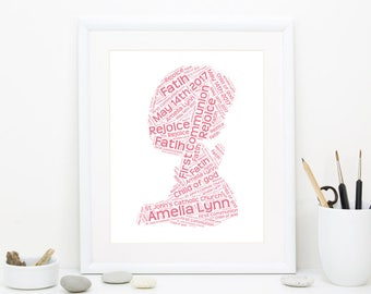 First Communion Gift, Gift for Communion, Personalized Communion Gift, Holy First Communion, Girl Communion gift, DIGITAL FILE