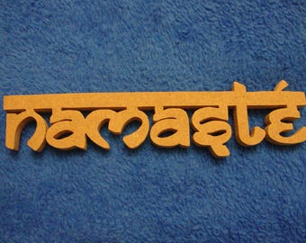 Namaste Cut Out MDF Shape Mosaic Base Unpainted Shape