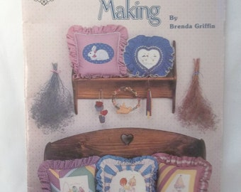 Creative Pillow Making Instruction Book Vintage
