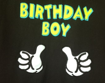 Birthday Boy Birthday Shirt