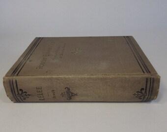 General Robert Edward Lee, 1st Edition 1897, illustrated, editor RA Brock, Genealogy History Civil War, Military Biographical, Vintage Book