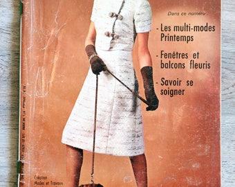 Magazine Modes & work 844 - June 1971 (Vintage)