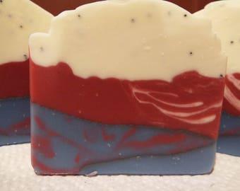 American Patriot artisan soap