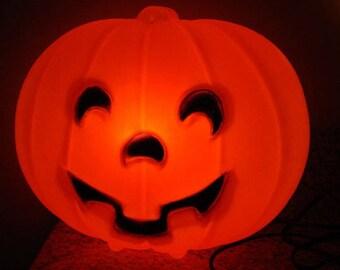Blinky blowmold pumpkin (not large size)