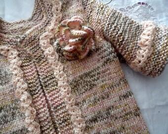 "Handmade - ""CINNAMON"" vest - size 34 - for women and teens"
