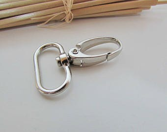 4 snap for bag of 25 mm - silver - ref 31.62 handle