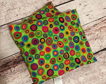 Cheerful circles Microwave Hot & Cold Pack Wheat Berry