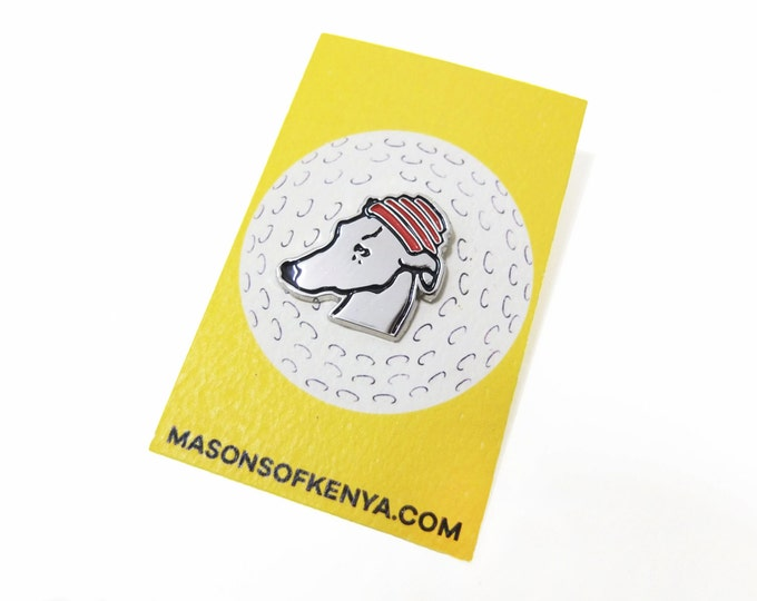 Whippet Good! Enamel Pin (Ships early June)