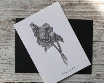 Floral Notecard / Postcard