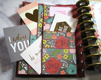 Happy planner cover-floral | Create 365 | mambi | me and my big ideas