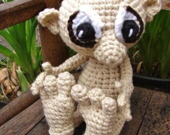Shy Goblin Crochet Pattern PDF