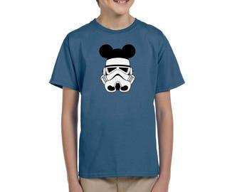 Star Wars Shirt - Storm Trooper Shirt - Disney Shirt - Disney Shirt for Boy's - Disney Kids Shirt
