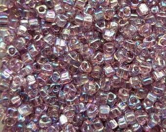 Miyuki 5/0 Triangle Beads  - Iris Lilac TR5-1156 - 20g