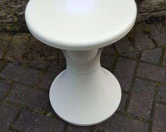 "REDUCED French ""Tam Tam"" Stool,Original French Stool,  Mid century stool, Retro Furniture,  Plastic Stool, Retro Stool, Vintage Stool"