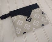 Snap Bag - Black and Whit...