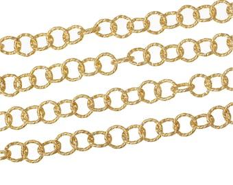 BULK - Gold Chain - 6 feet - Links are 11.5mm - #CH72640