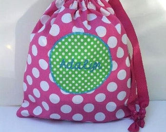 Personalized Fabric Gift Bag
