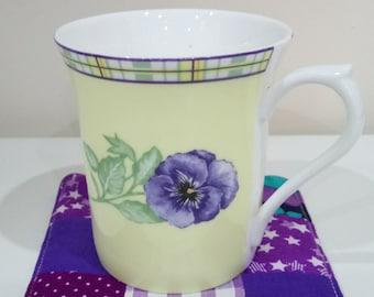 Fabric coasters, patchwork coasters, mug rug, patchwork