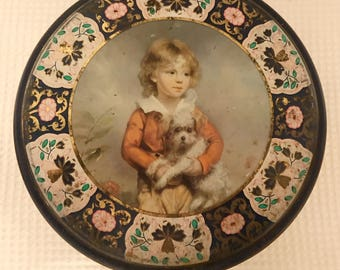 Victorian Cookie Tin