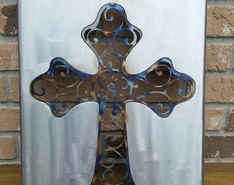 Cross Wall Decor, Spiritual, Christ, Family Cross, Religion, Church, Faith, Made in USA
