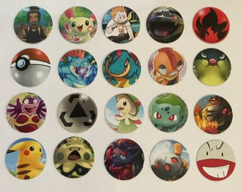 Recycled Pokemon Card Stickers