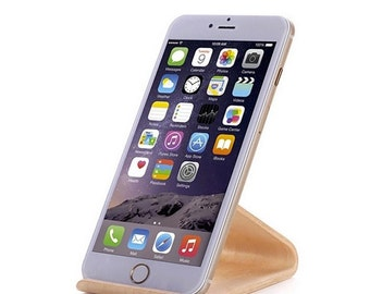 Wooden iPhone/iPad mini Stand, Phone Stand, Tablet Stand, iPhone Docking, Wood iPhone Stand, Wood iPad Stand,Bent Plywood,Dock Station