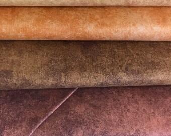 ON SALE!!  Shadow Play by Maywood Studio MAS513 autumn tones mottled fabric