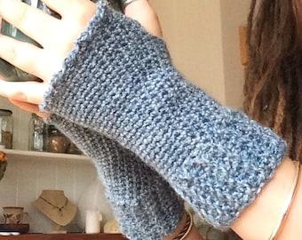 Crochet Wristlets, Wrist Warmers, Fingerless Gloves
