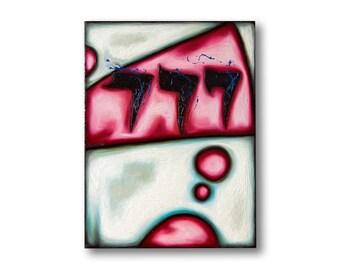 Minimalism art painting , Contemporary artwork abstract painting , Minimalist , Gambler gift , small modern painting original by Stetsenko