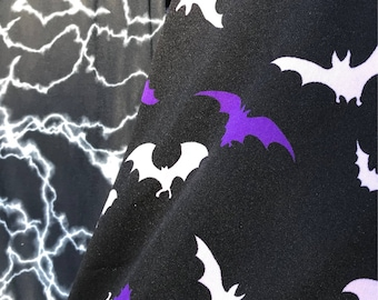 Dark Night Lightning or Bat Dog Shirt