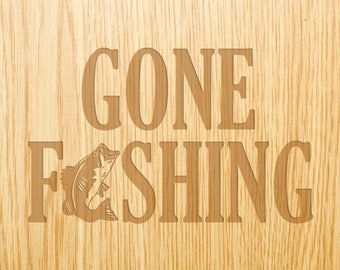 Gone Fishing - Image Design Library