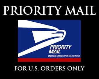Priority Mail Upgrade for USA orders