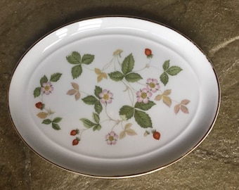 WEDGEWOOD Dish Wild Strawberry - Small
