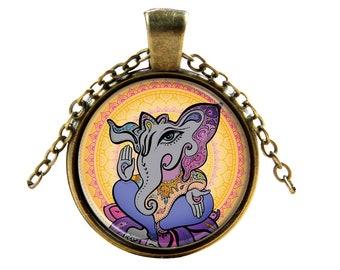 Anicent Elephant Necklace - Elephant Pendant