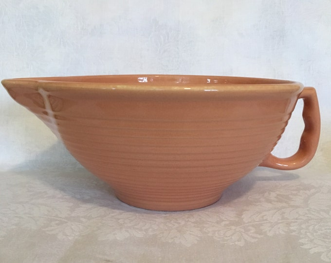 Pink Ringware Batter Bowl Made in USA