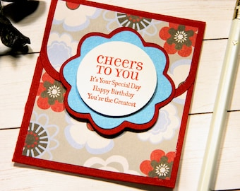 Birthday Money Gift - You're The Greatest - Sister Birthday Gift - Gift For Daughters - Floral Card For Mom - Gift Card Holders