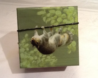 "Art Box: ""Naturally Squirrelly"""