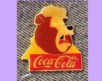 Disney Pin ~ Big Al ~ Country Bear Jamboree ~ 15th anniversary ~ WDW ~ 1986 ~ Coca Cola ~ Coke