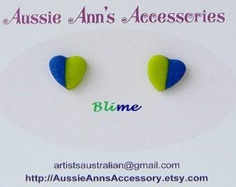 Blue Assortment Itsy Bitsy Hearts