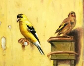 BIRD SONG 31 by Randall Deihl
