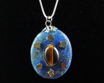Lapis Lazuli, Pyrite & Tigers Eye