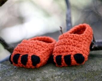 Fox Cub Baby Booties