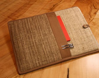 "Wild Nettle and Hemp Laptop case, Laptop Sleeve Bag - For Macbook Pro 13"""