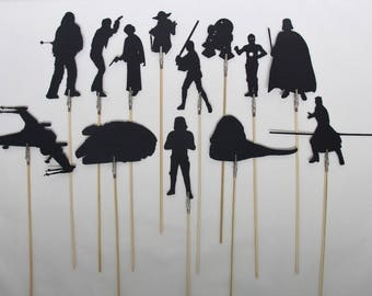 Space Wars Shadow Puppets