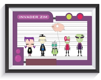 Invader Zim - Group