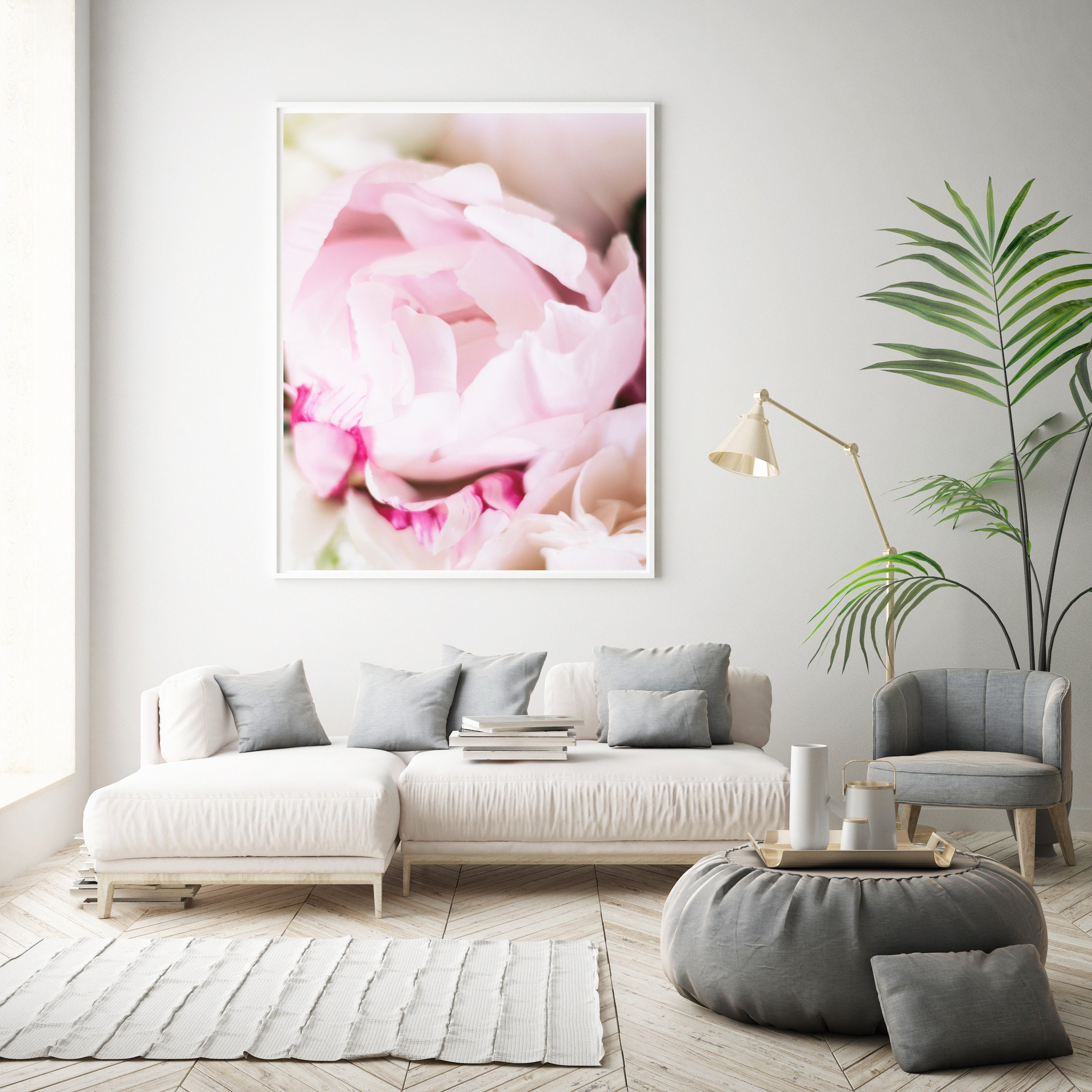 Printable Pink Peony Photo, Peony Art Print, Paris Decor Bedroom, Peony Wall  Art, Paris Wall Decor, Cafe Art Decor, Gallery Wall Photo, Rose