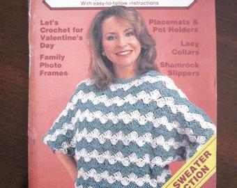 Quick & Easy Crochet Booklet - Volume 11, Issue 1 - January/February 1987
