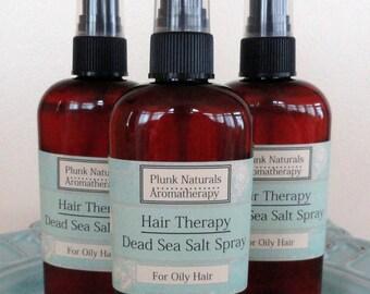 Hair Therapy Dead Sea Salt Spray for Oily Hair 8 ounce