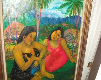 "Manor Shadian-painting titled ""Makuahine"""