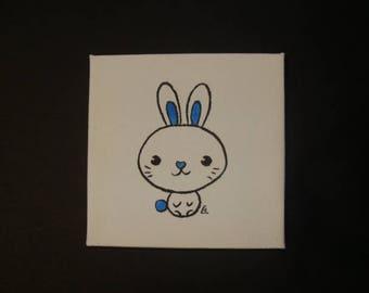 Kawaii 4 Blue Bunny